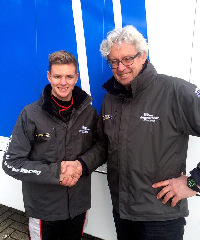 Mick Schumacher a csapatfőnök Frist van Amersfoorttal