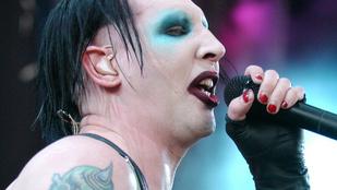 Terry Richardson Marilyn Mansont a papájával fotózta