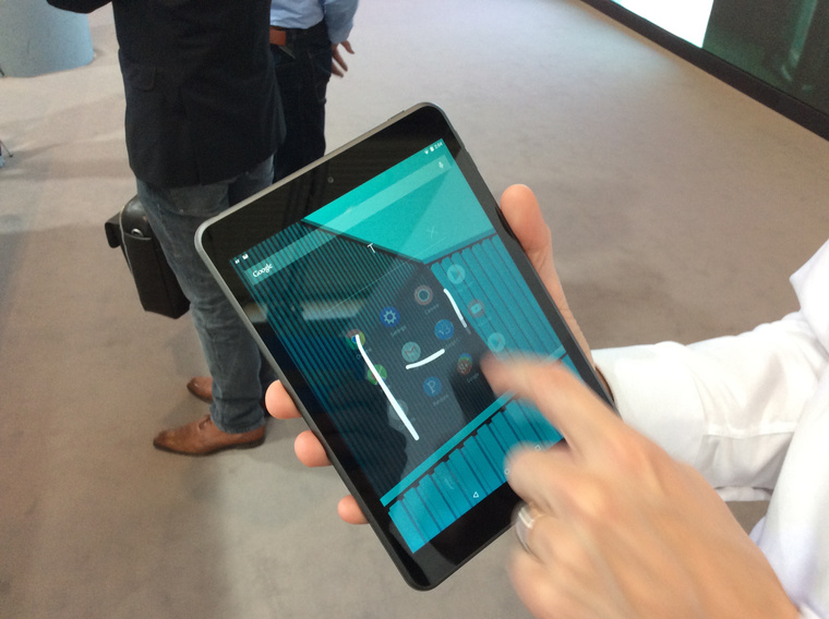 Nokia N1 és a Z Launcher