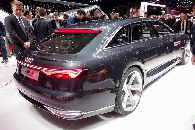 Egyenes tetővonal - eddig íves volt az Audi kombiké
