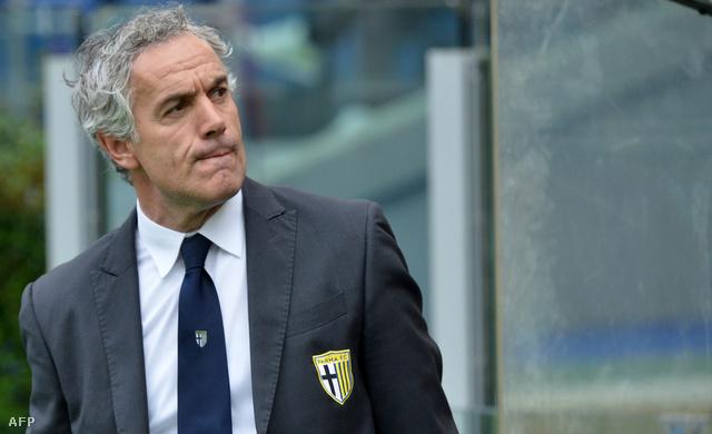 Roberto Donadoni, a Parma edzője