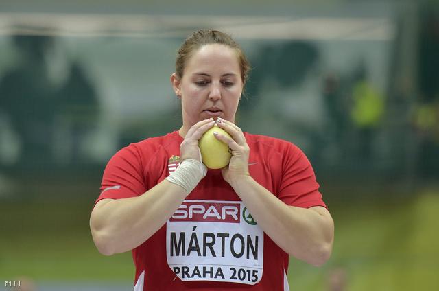 Márton Anita a prágai atlétikai Európa-bajnokságon