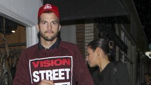 Majdnem Demi Moore-ba futott bele a Kutcher-Kunis-páros