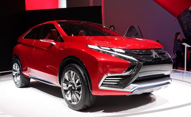 Igazi Lexus-face, csak Mitsubishiből