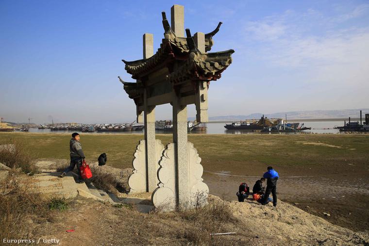 Majdnem teljesen kiszáradt már Kína legnagyobb édesvízű tava