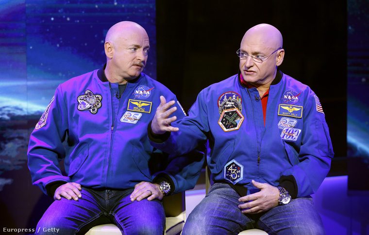 Mark és Scott Kelly