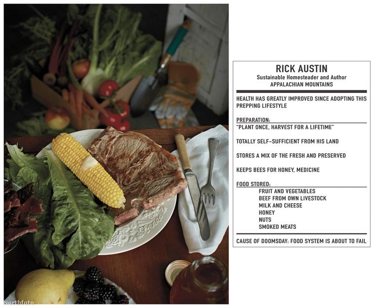 Rick Austin az Appalache-hegységben él, évek óta folytat önfenntartó gazdálkodást