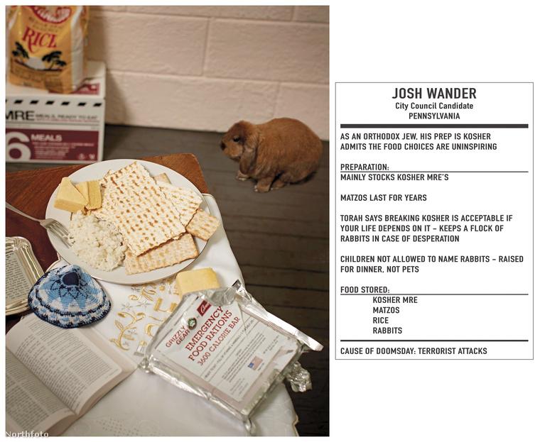 Josh Wander pennsylvaniai közgyűléstag-jelölt ortodox zsidóként főleg pászkát halmozott fel, az évekig eláll