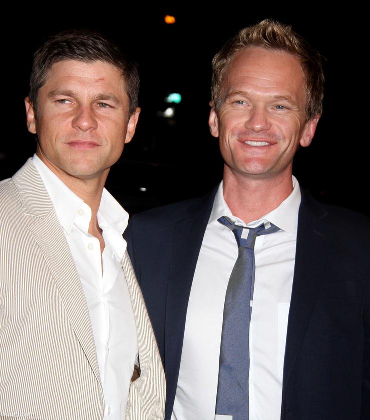 Ők David Burtka és Neil Patrick Harris színészházaspár