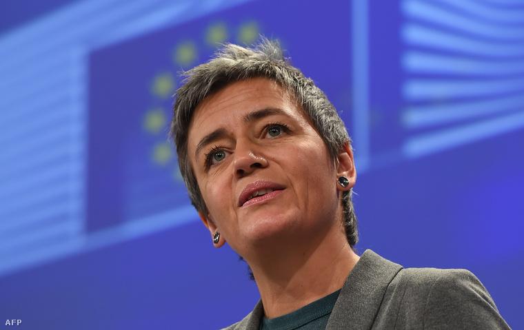 Margrethe Vestager versenyjogi EU-biztos