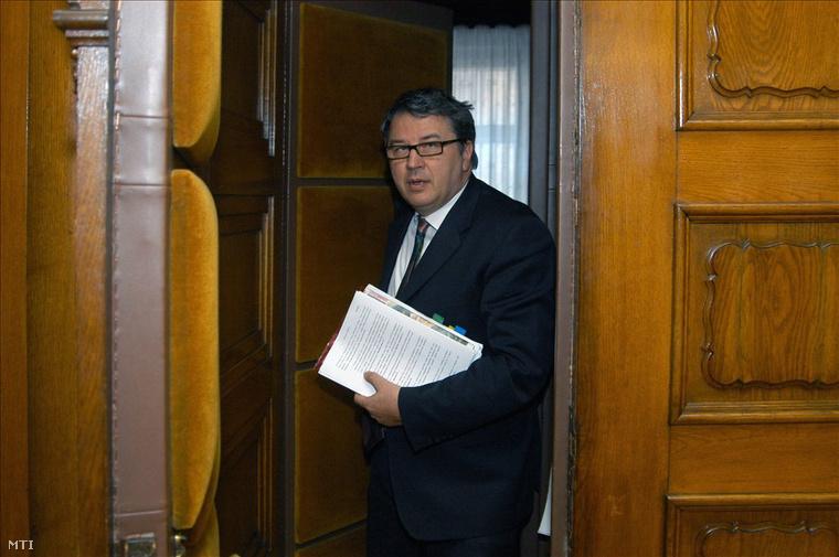Budapest, 2008. május 15. Balogh Zsolt megbízott vezérigazgató a BKV Akácfa utcai székházában.