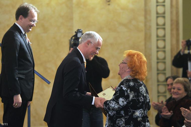 Lorán Lenke is megkapta a Magyarország Kiváló Művésze díjat