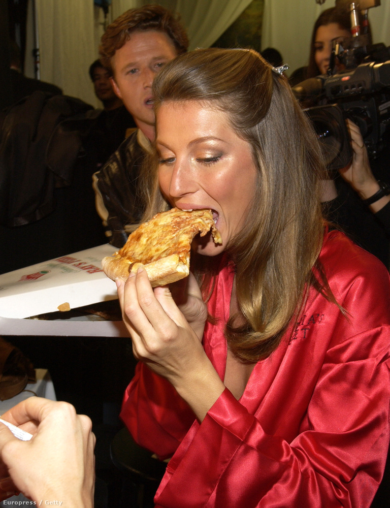 De mielőtt megnézné a Victoria's Secret angyalait, nézze meg, hogy Gisele Bündchen hoga próbálta elhitetni a világgal, hogy pizzazabálással is lehet valaki karcsú bugyimodell.
