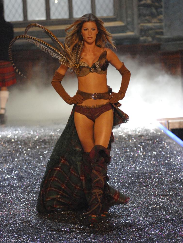 Bündchen utoljára 2006-ban lépett a Victoria's Secret kifutójára