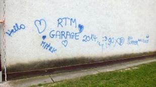 Az év fogása: graffitiző 14 évest fogott a rendőrség