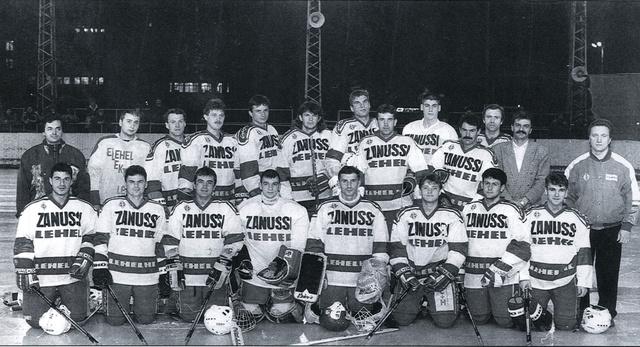 A Lehel '93-94-es csapata