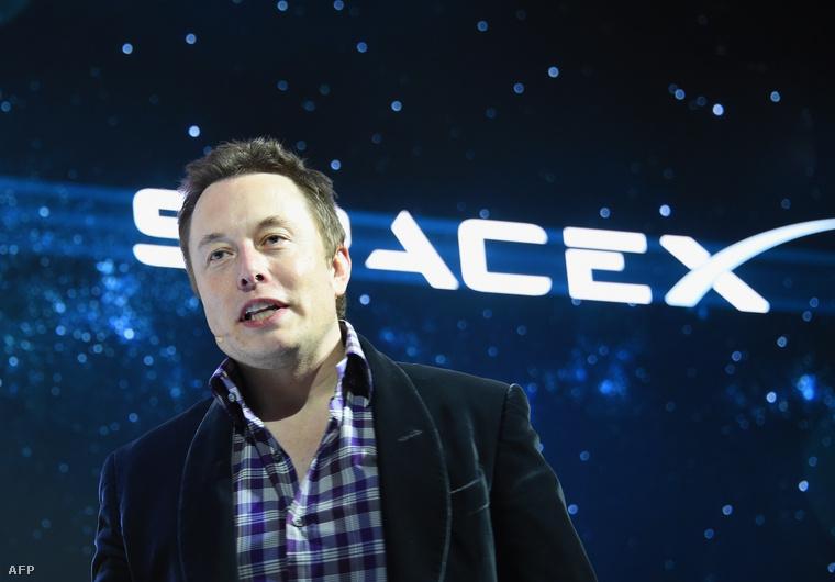 Elon Musk egy SpaceX eseményen