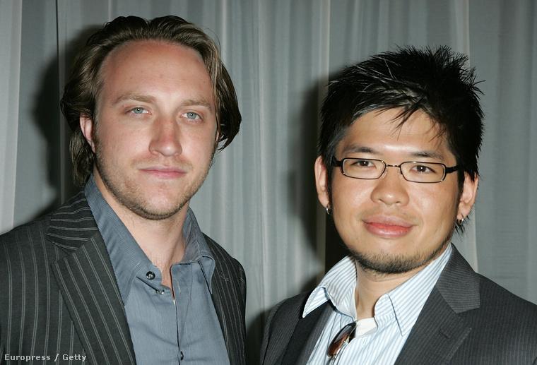 Chad Hurley és Steve Chen 2008-ban