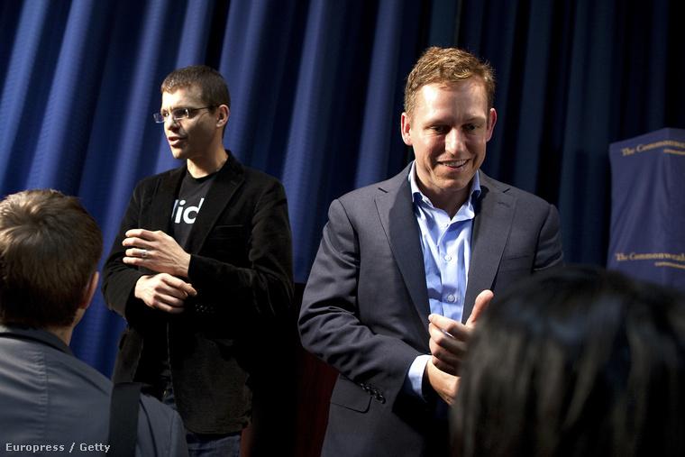 Max Levchin és Peter Thiel