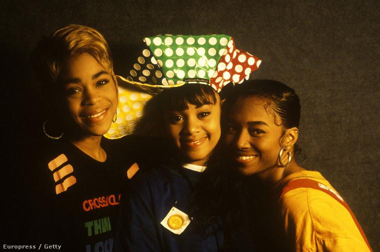 És az alapok: a TLC tagjai 1992-ben