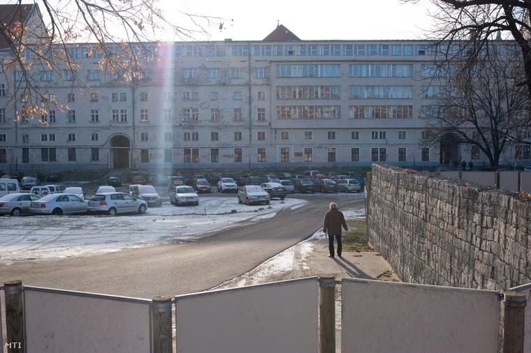 A budapesti városháza parkolója