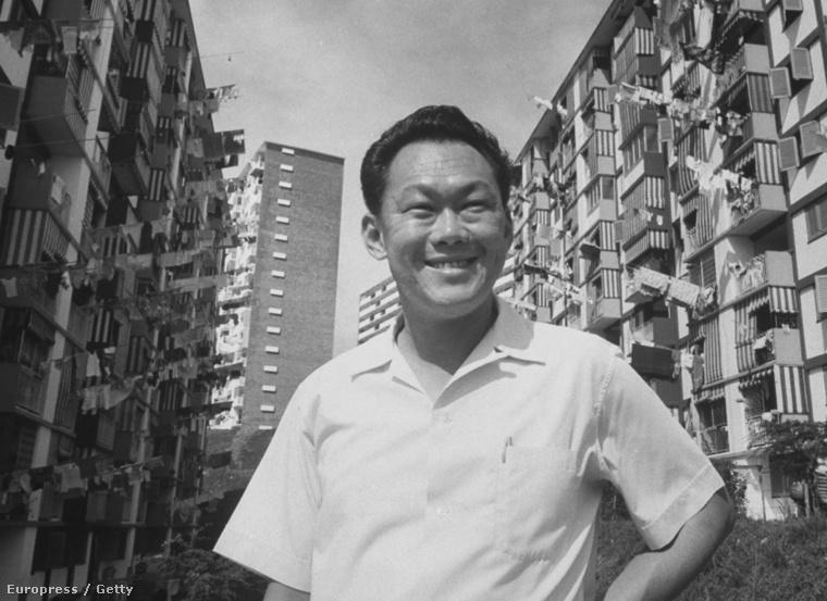 Lee Kuan Yew 1965-ben