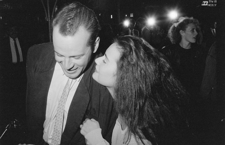 Majdnem féléves házasok a képen Demi Moore-ral, aki Emilio Estevezt cserélte le Willisre