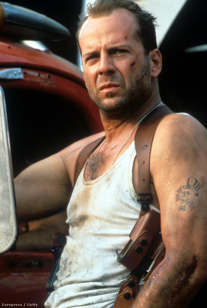 Ez a kép már 1995-ben készült a Die Hard forgatásán, alig változott valamit éveken keresztül