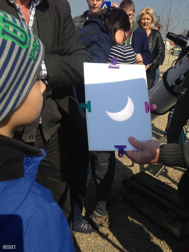 Íme a napsarló.