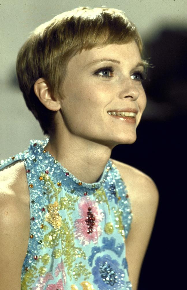 Mia Farrow valamikor a 60-as években.