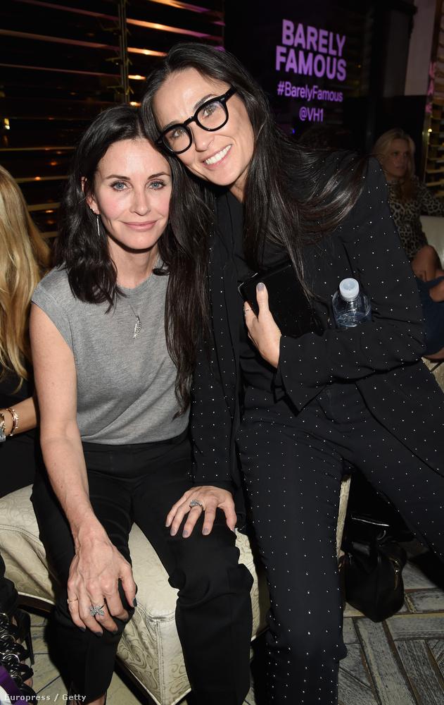 Na meg az is, hogy Courteney Cox és Demi Moore akár testvérek is lehetnének