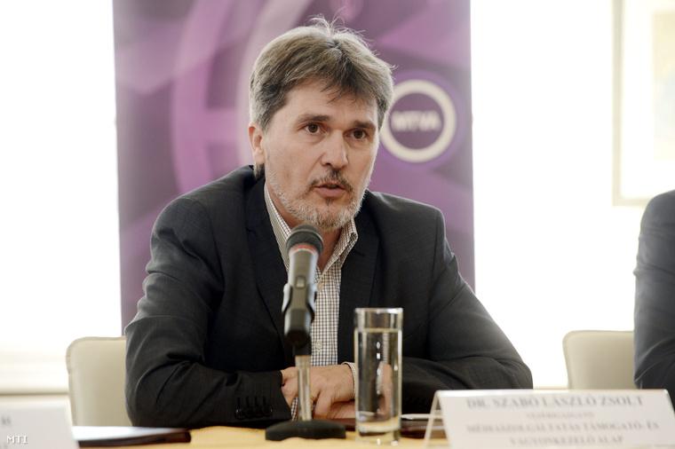 Szabó László Zsolt a Médiaszolgáltatás-támogató és Vagyonkezelő Alap vezérigazgatója