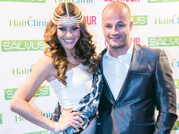 Kulcsár Edina a Glamour magazin gáláján