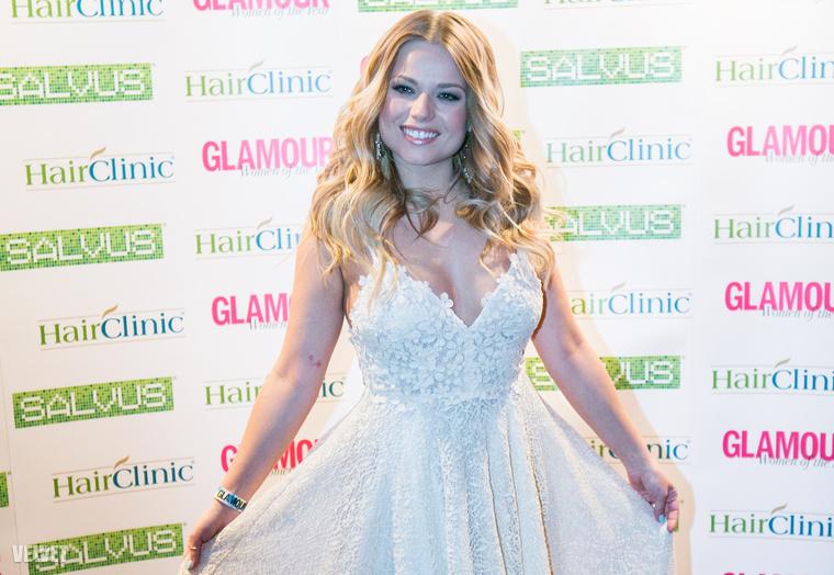 Cserpes Laura a Glamour magazin gáláján
