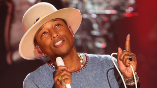 Pharrell kölyköket szórakoztatott az ENSZ-ben