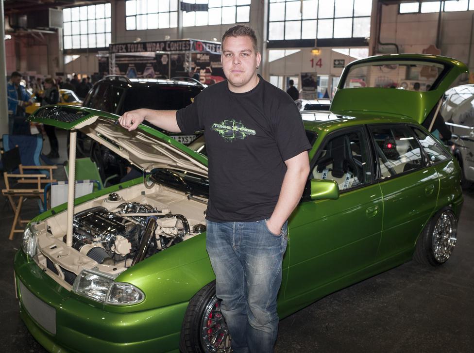 Robert Arendt / Németország, Kamenz                                           Opel Astra FC20LET                                           30 000 Euró