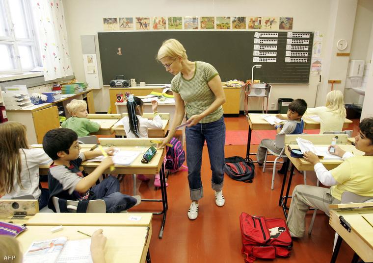Oktatás egy finn iskolában
