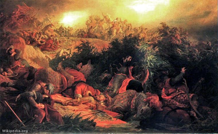 Székely Bertalan: A mohácsi csata