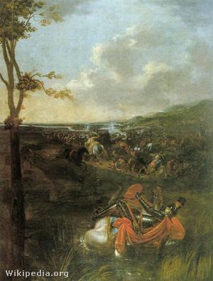 id. Dorfmeister István: II. Lajos halála