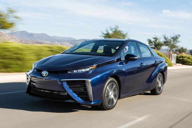 Toyota Mirai, az első tüzelőanyagcellás autó