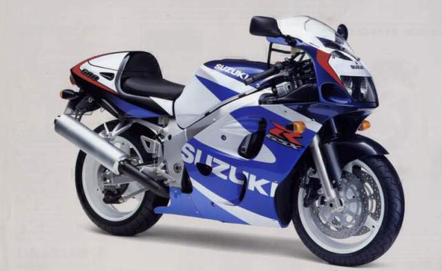 Suzuki GSX-R600 SRAD - 1997