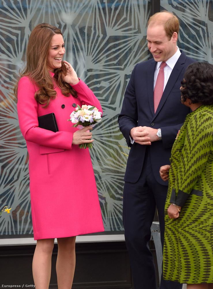 Vilmos herceg és Katalin második közös gyereke valamikor jövő hónapban, vagyis áprilisban születik majd meg.