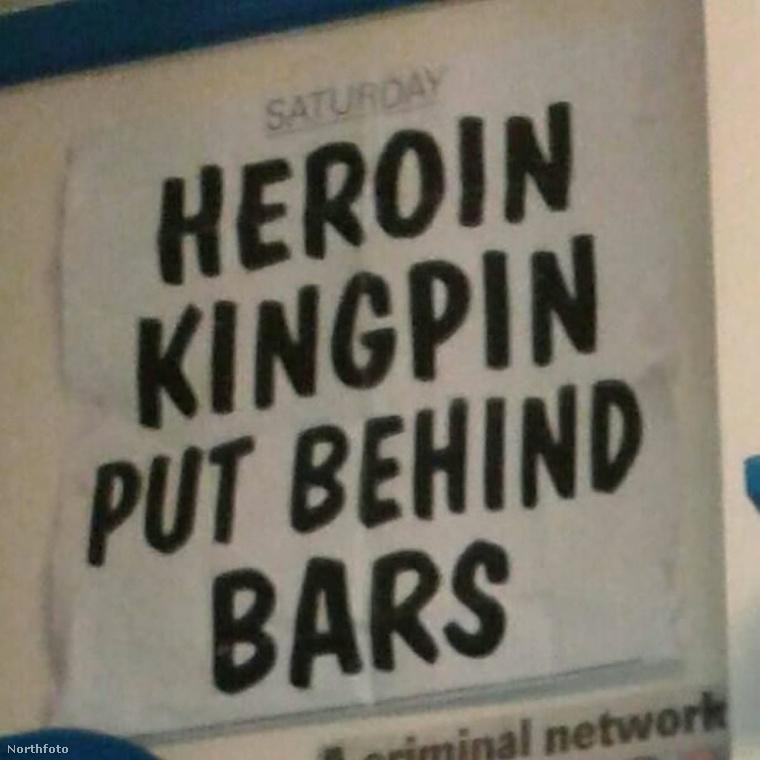 A cellát a róla szóló cikkekkel plakátolta ki, elég büszke rá, hogy bandavezérnek tartják.