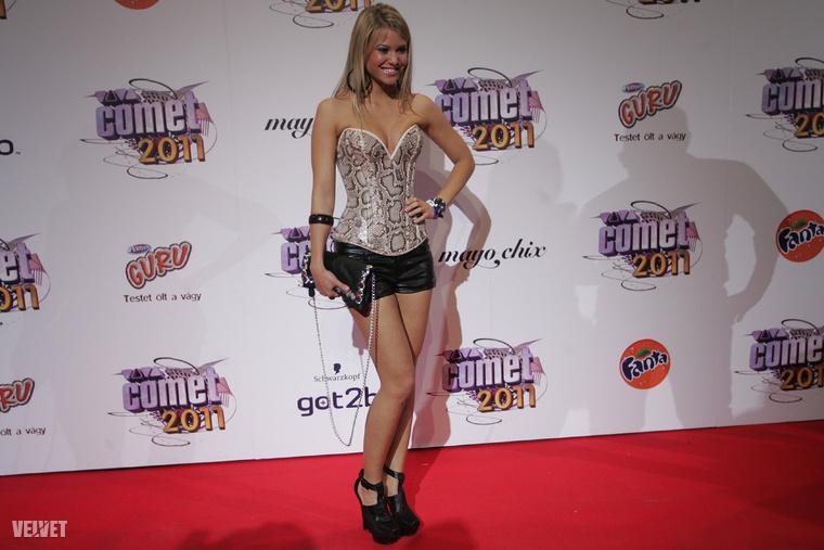 Bertók Marianna, playmate, modell, 2011-ben.