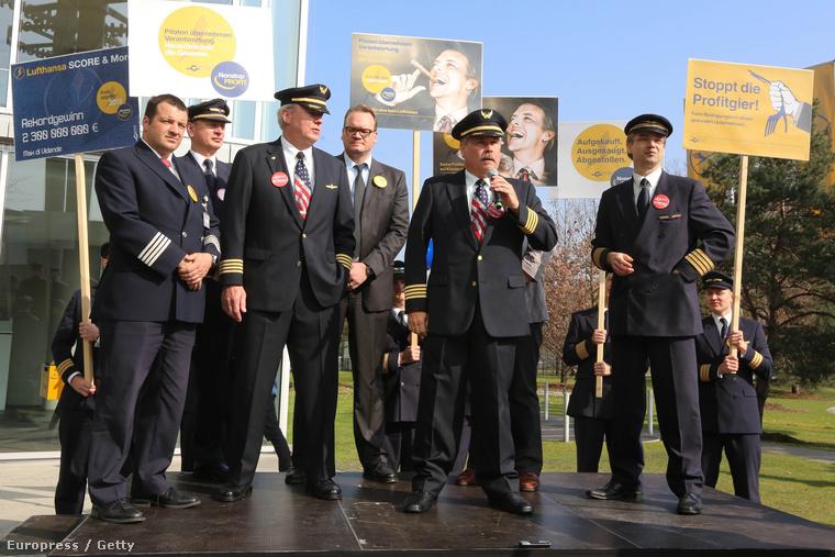 A Lufthansa pilótáinak sztrájkja 2014 áprilisában