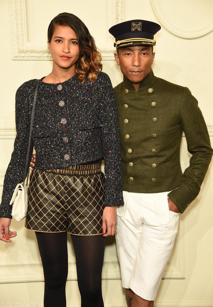 Pharrell Williams pedig Helen Lasichanh társaságában indult a legbénább szett címért.