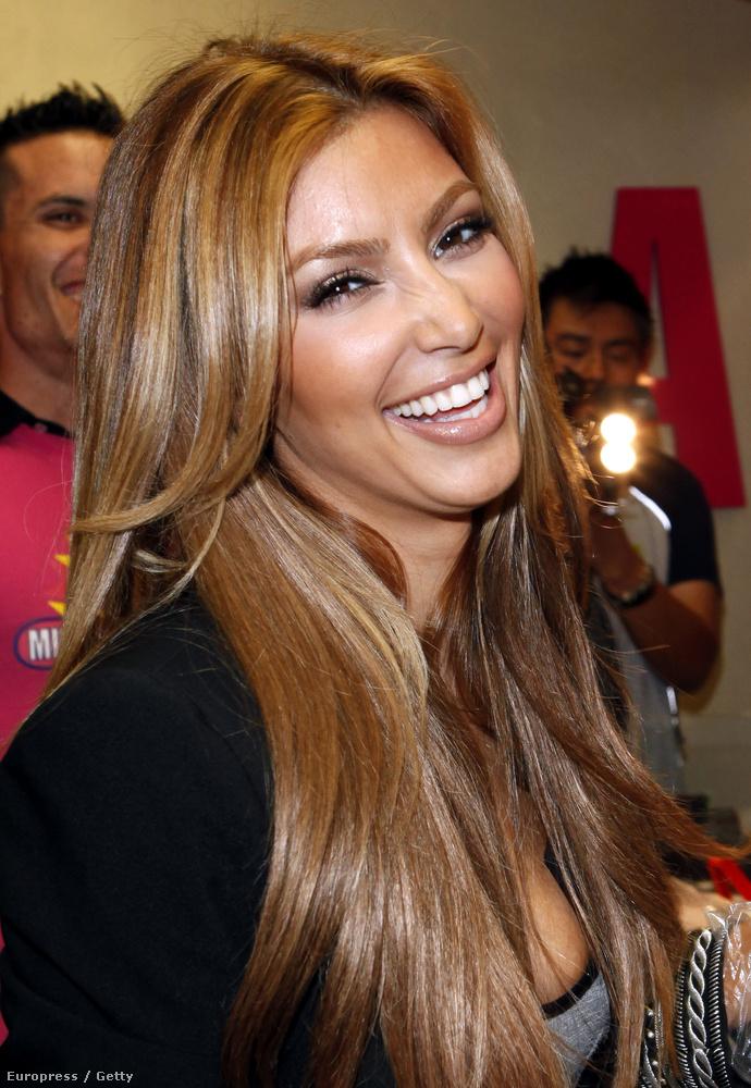 Kim Kardashian boldog volt...