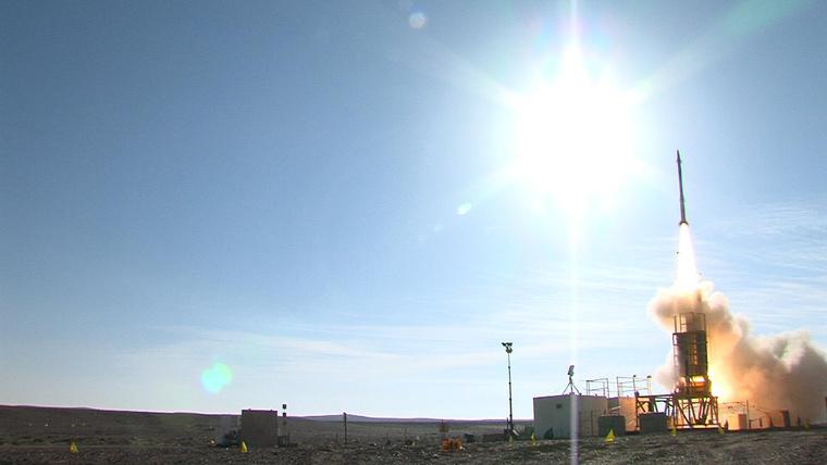 Nov. 20, 2012 - David's Sling Weapons System Stunner Missile int