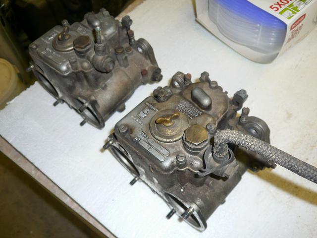 Ahogy egy harminc-negyven éves karburátor ki szokott nézni