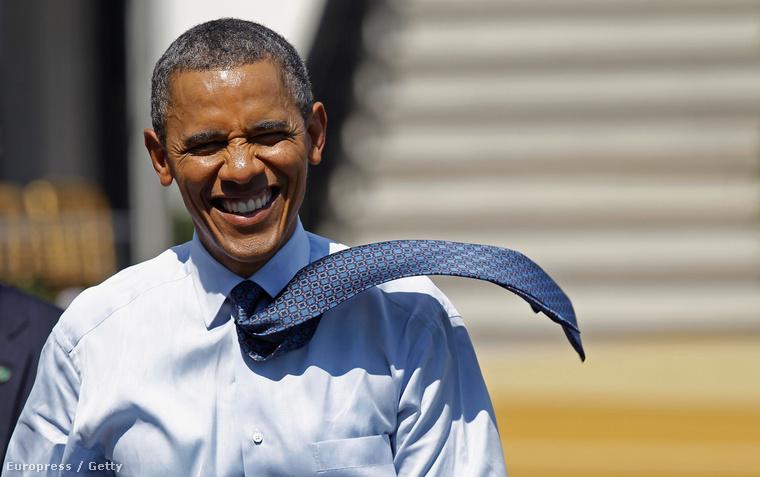 Például Barack Obamának 2012-ben